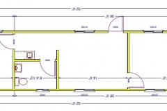 Office Trailer Floor Plan Galleries | API Trailers, Central